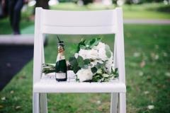 Wedding venue & flower bouquet