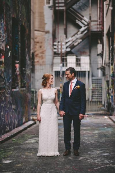 Jen & Theo laneway